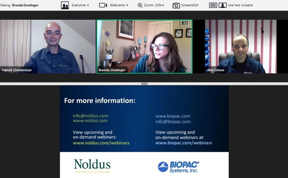 Семинар «Технологии научной интеграции: Noldus +  BIOPAC»
